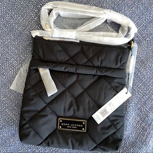 NWT Marc Jacobs Quilted Nylon Crossbody Bag